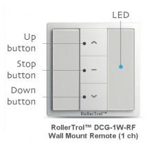 1 Ch Wireless Wall Remote for Radio Motors