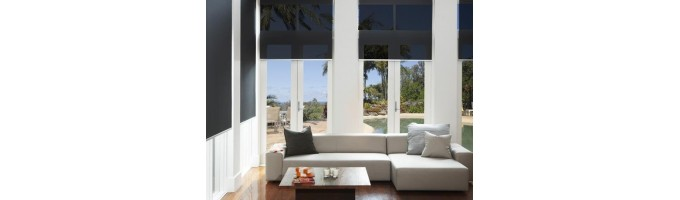 Automatic Blinds And Shades Motorized Solar Powered Wifi Enabled